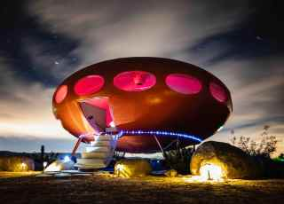 Casa UFO está disponível para alugar no Airbnb