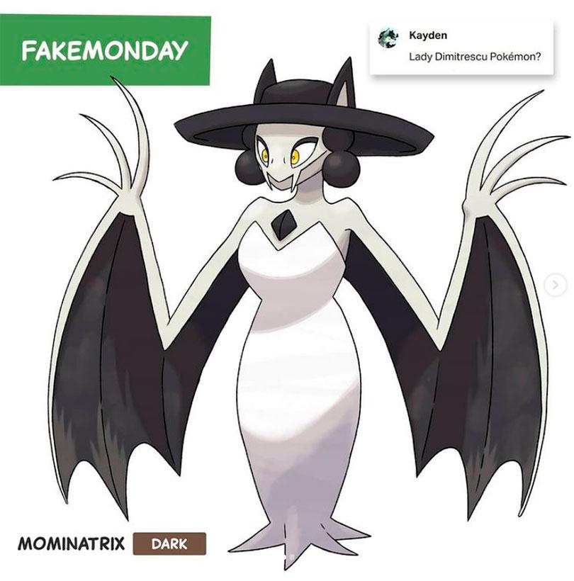 Como seria Lady Dimitrescu se fosse um Pokémon
