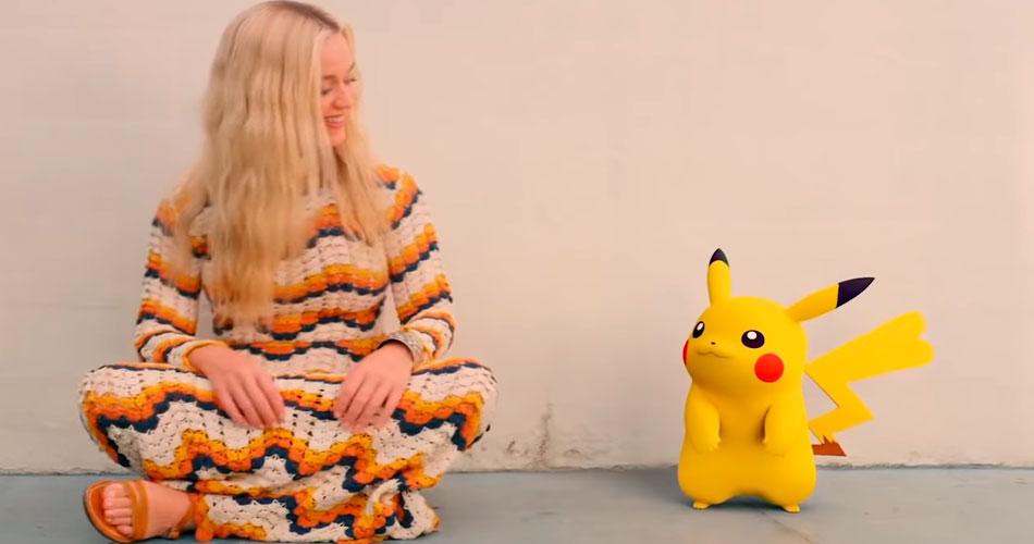 Nova música da Katy Perry homenageia Pikachu