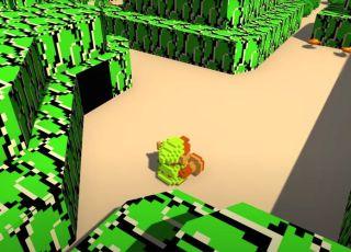 Fã recria o Zelda Original em 3D