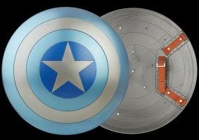Escudo do Capitão América ganha réplica em tamanho real