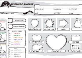 Dungeons e Dragons para disléxicos: Fichas de personagens para quem sofre da condição