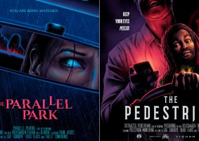 Medos no trânsito viram filmes de terror em pôsteres