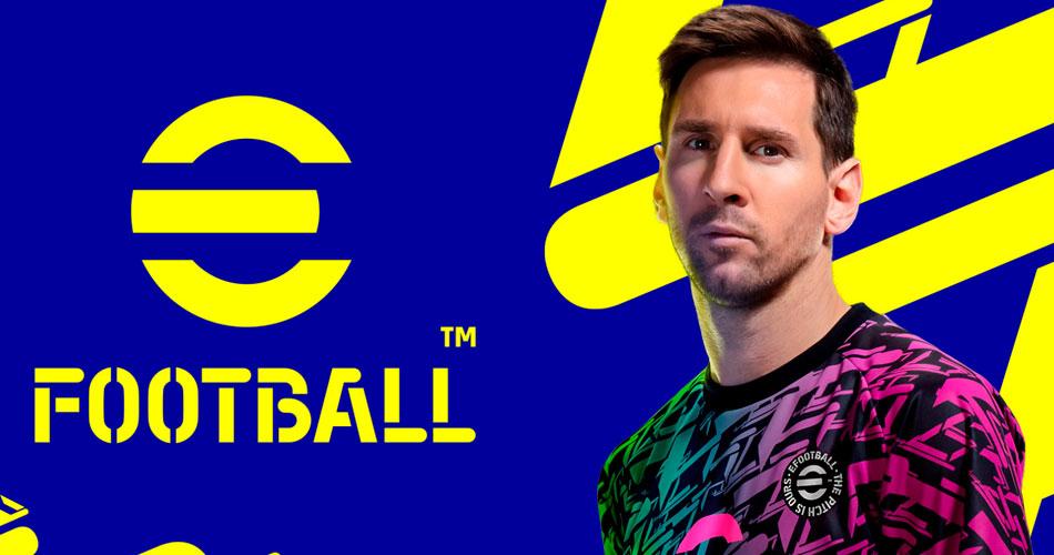 PES agora é gratuito e mudou de nome para eFootball