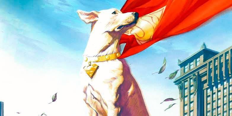 Krypto, o cão do Superman, tem uma origem um tanto perturbadora