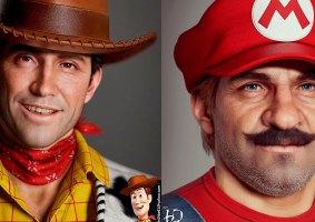 Artista transforma personagens famosos em 3D