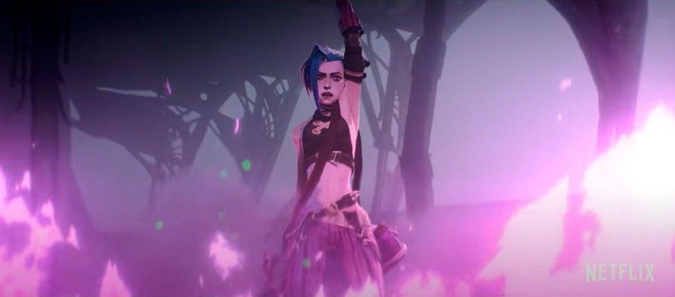 League of Legends da Netflix: Veja o trailer da animação