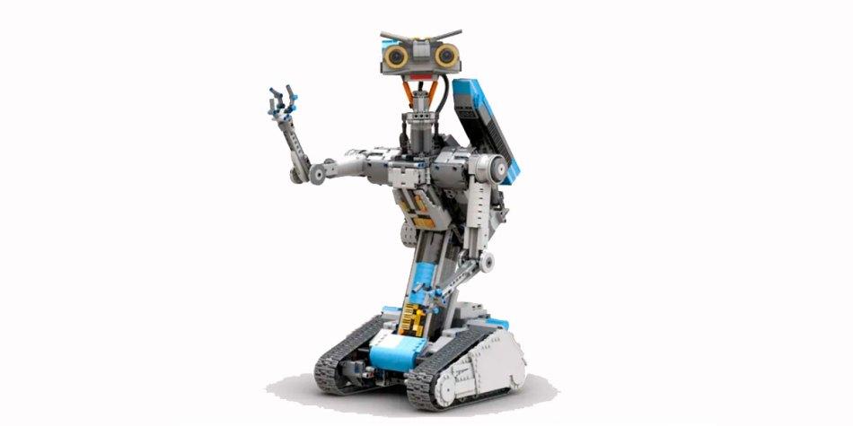 O LEGO do Número 5, do filme clássico Um Robô em Curto Circuito