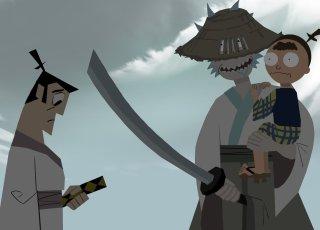 Samurai Jack e Rick e Morty se juntam em arte de Tartakovsky, criador do desenho