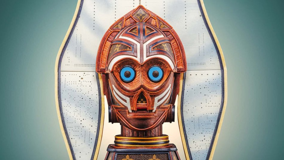 C3PO e Ahsoka Tano se juntam em escultura do Star Wars