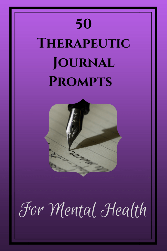 50 Therapeutic Journal Prompts For Mental Health Nerd Knows Life