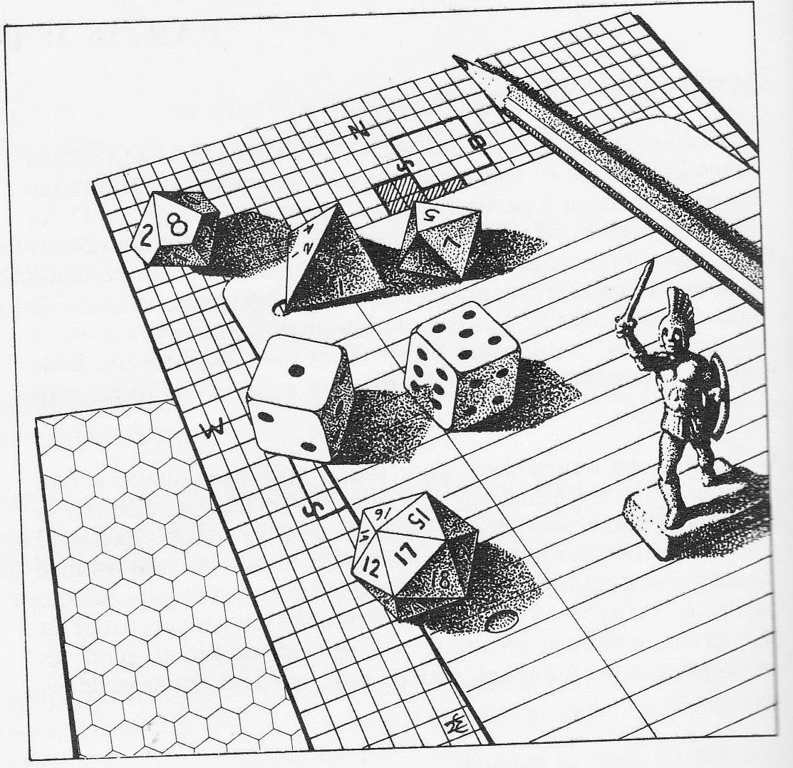 tabletop gaming sketch