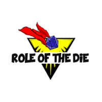 Role of the die square logo ad