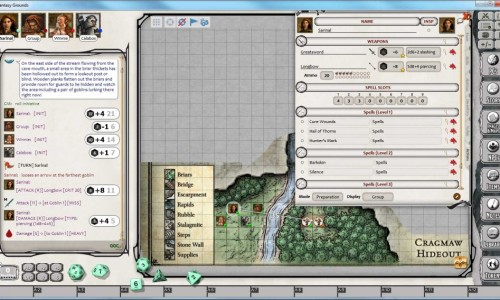 Fantasy Grounds Player View
