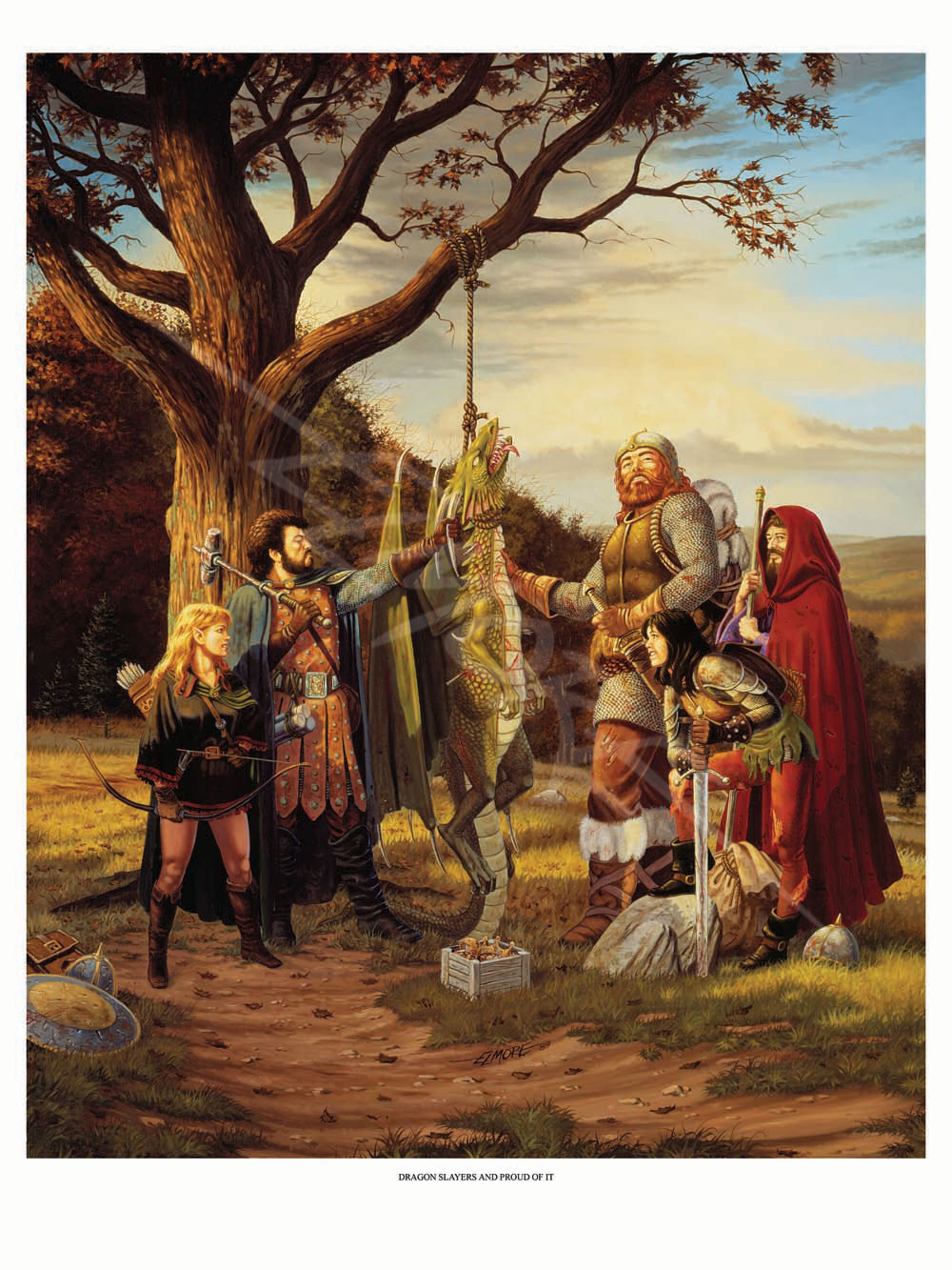 Larry Elmore - Dragon Slayers