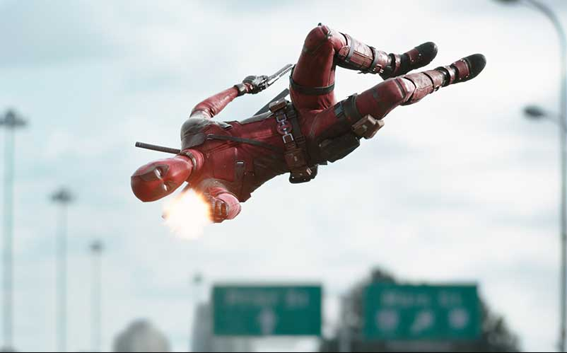 Red band deadpool trailer