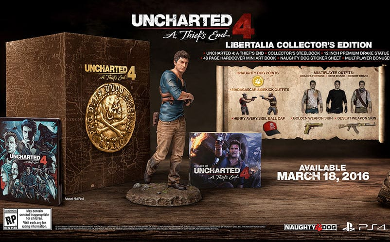 Uncharted 4 Collector's Edition