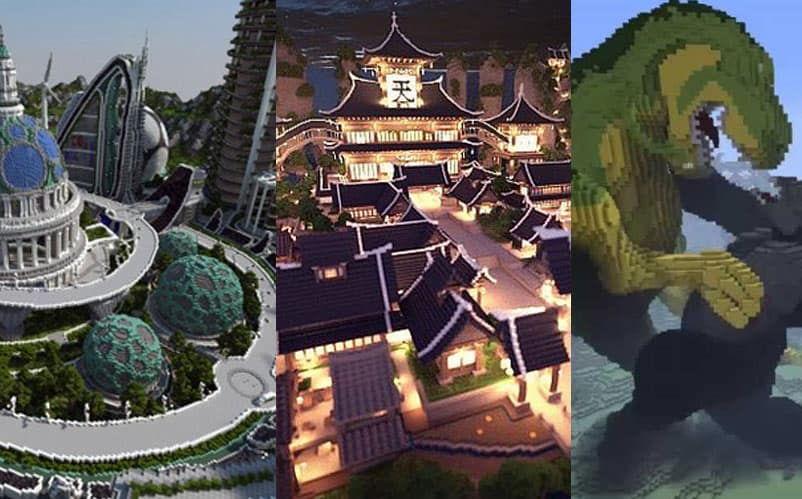 50 Minecraft Creations You Have to See To Believe (2019) | Nerd Much?