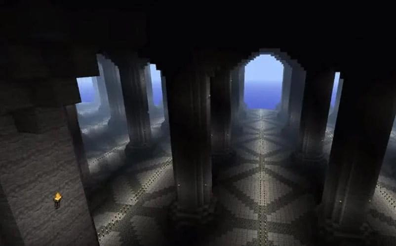 minecraft caves