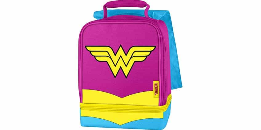 Wonder Woman Lunch Box w/ Cape