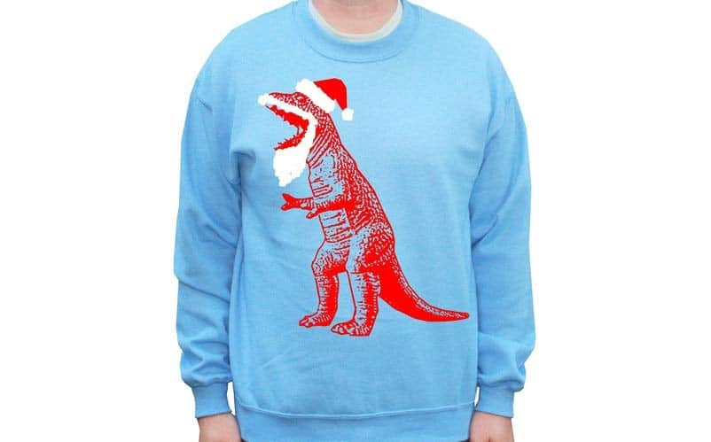 Big Bang Theory Santa T-Rex
