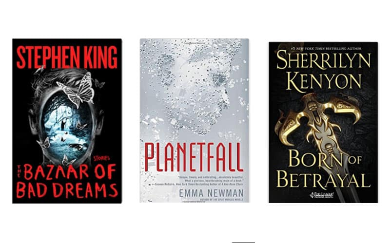 Top 10 Best New Sci-Fi Fantasy Books to Read: November 2015