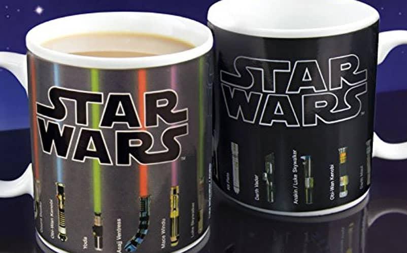 Star Wars Lightsaber Heat Change Mug – $12.35