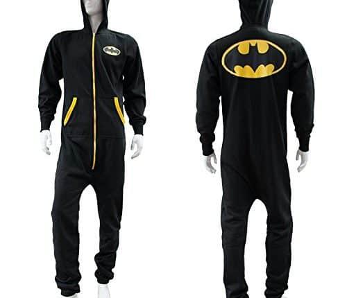Batgirl/Batman Adult Pajamas