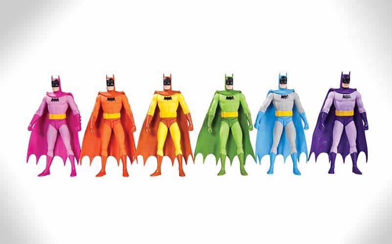Batman Rainbow figures