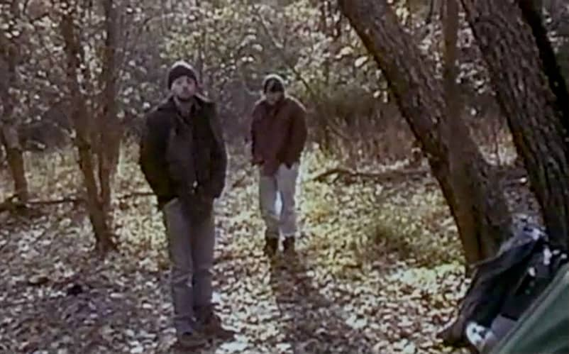 Blair Witch Project Camping times