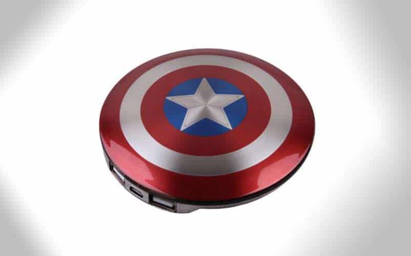 captain america portable powerbank