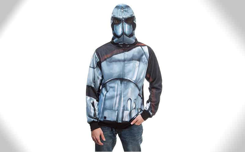 captain phasma hoodie armor