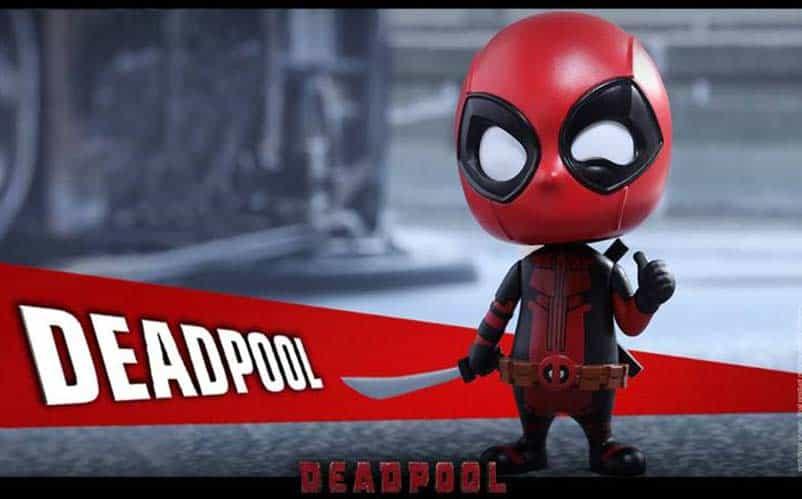 deadpool cosbaby bobble head hot toys