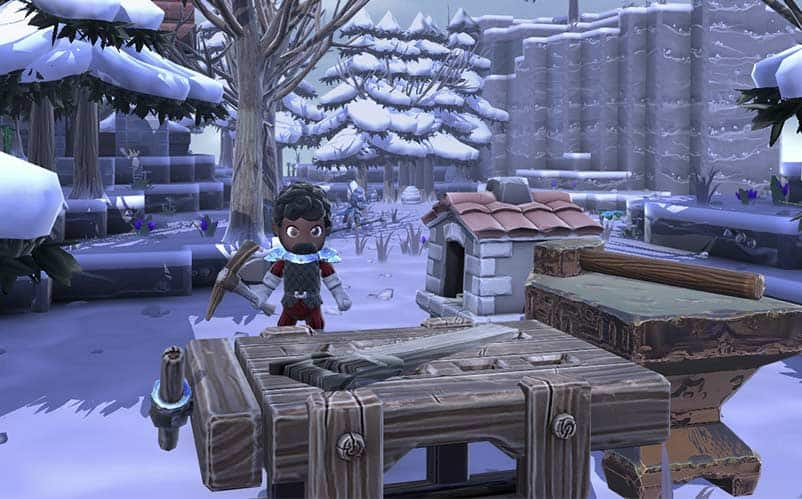 Portal Knights crafting