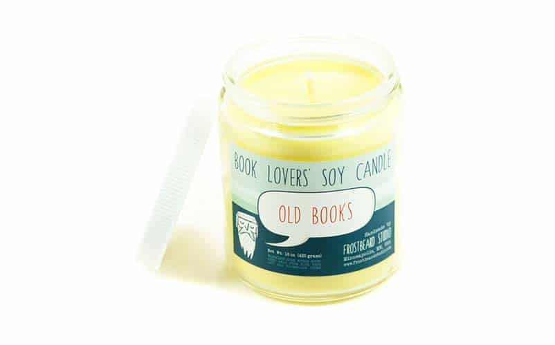 Book Scented Candles