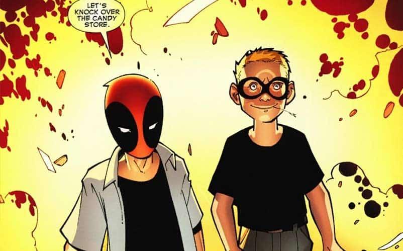 Deadpool and bullseye