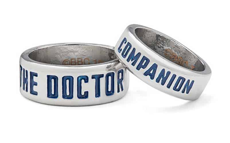 doctor who companion rings