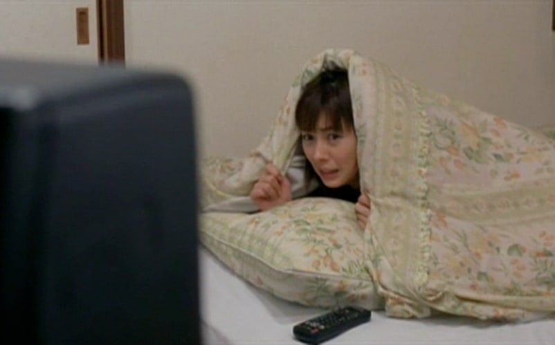 Accurate deptiction of the state that watching Ju-on: The Grudge leaves you in