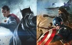 Batman v Superman vs captain america civil war