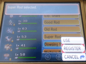 pokemon register key items