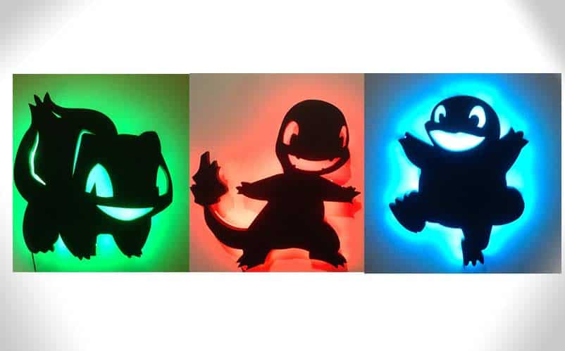Pokemon LED Lights