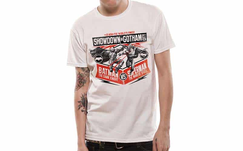 Showdown in Gotham City T-shirt