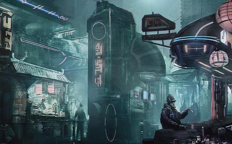 cyberpunk dark souls