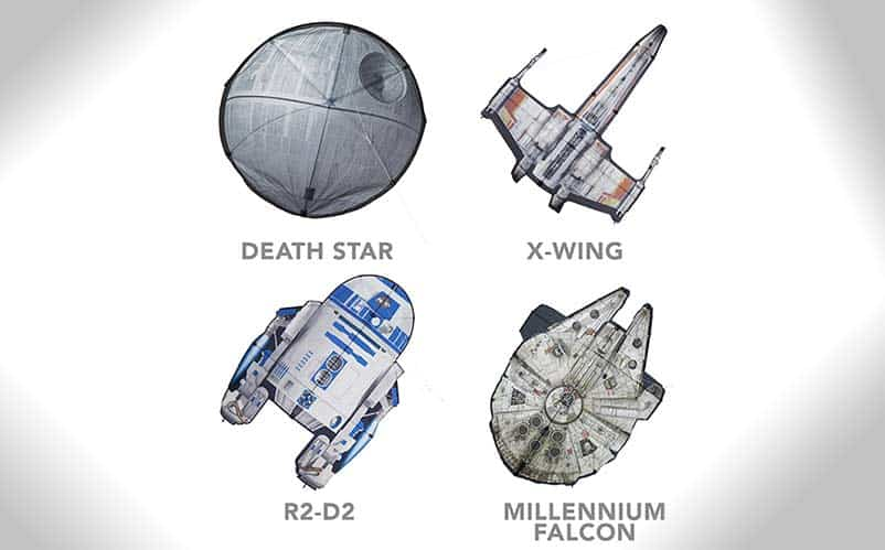 star wars kites