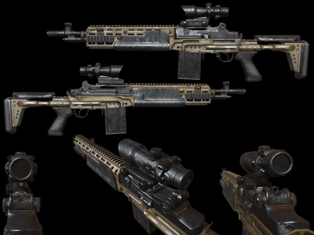 Killing Floor 2 M14 EBR Rifle