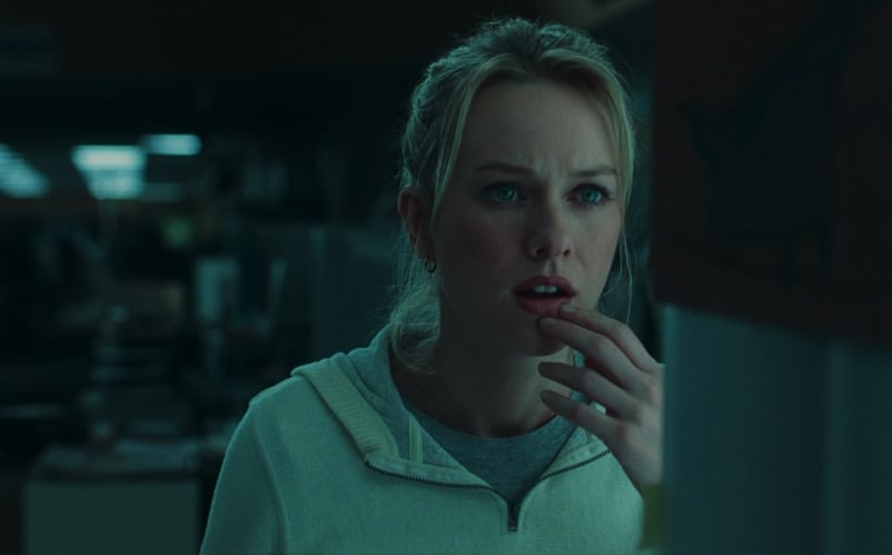 Naomi Watts has a lot of thoughts to think.