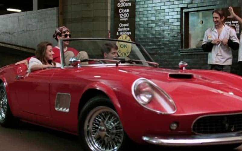Mr. Frye's Ferrari