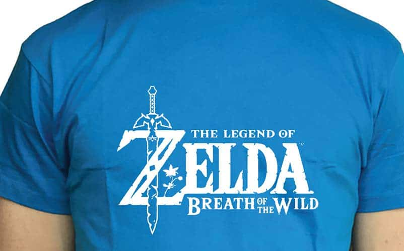Legend of Zelda Breath of the Wild Z Sword T-shirt