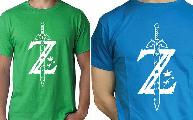 Breath of the Wild Z T-shirt