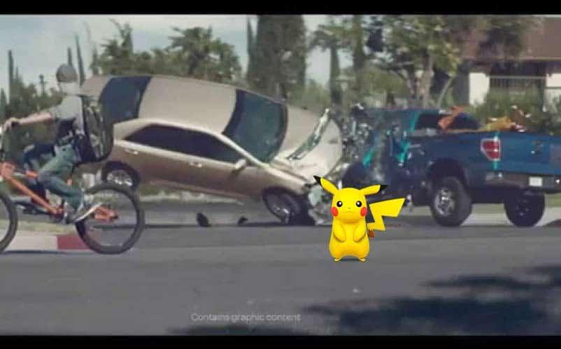Pokemon Go commercial